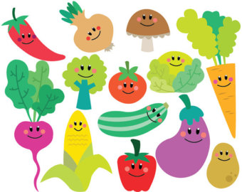 Vegetable clipart vector Personal and Set Download Commercial