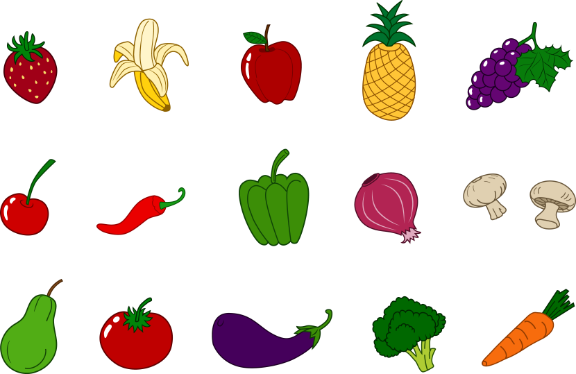 Vegetable clipart vector Clipart collection Free vegetables Leafy