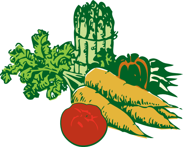 Background clipart vegetable garden #14