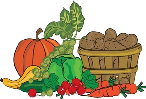 Background clipart vegetable garden #10