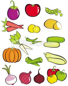 Vegetable clipart vegetable plant Of Lots SowHow Vegetables