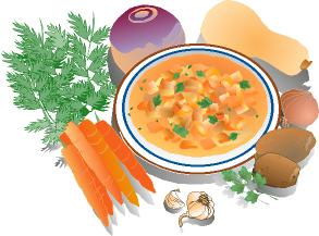 Carrot clipart winter food Vegetable #25642 clipart soup soup