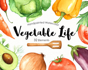 Carrot clipart watercolor Vegetables Culinary Veggies clip Life