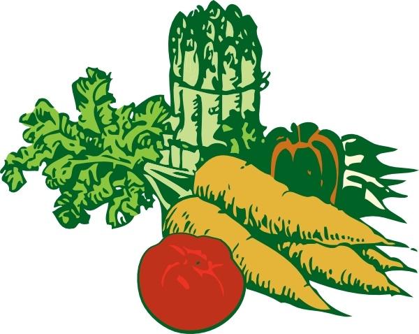 Vegetables clipart In  art vector Vegetables