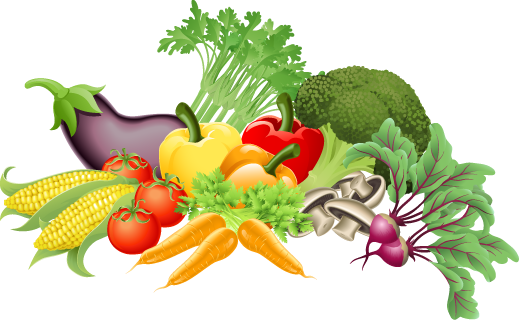 Background clipart vegetable garden #8