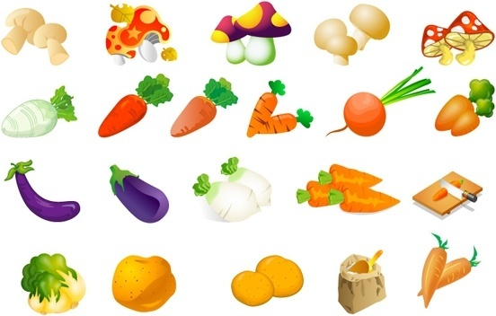 Fruits & Vegetables clipart #1