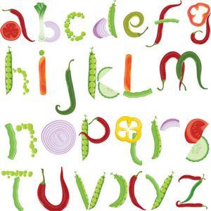 Fruits & Vegetables clipart alphabet On images Pinterest Alphabet clipart