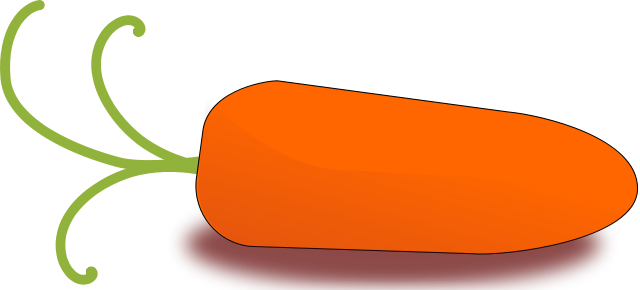 Carrot clipart vegtable Of Clipart page Public Carrot