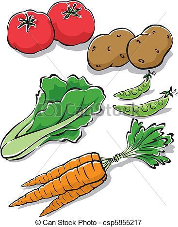 Fresh clipart vegetable patch Vegetables Illustration  Garden Fresh