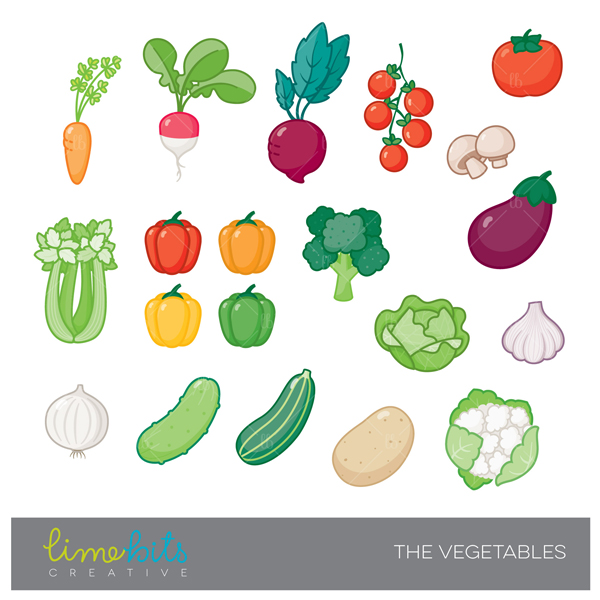 Vegetable clipart vege Mygrafico Vegetables and Clipart Clipart