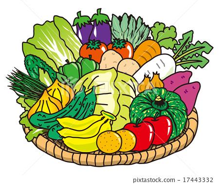 Vegetables clipart lot Stock vegetables vegetable vegetable PIXTA