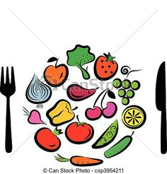 Vegetables clipart lot Isolated cartoon vegetable vegetables