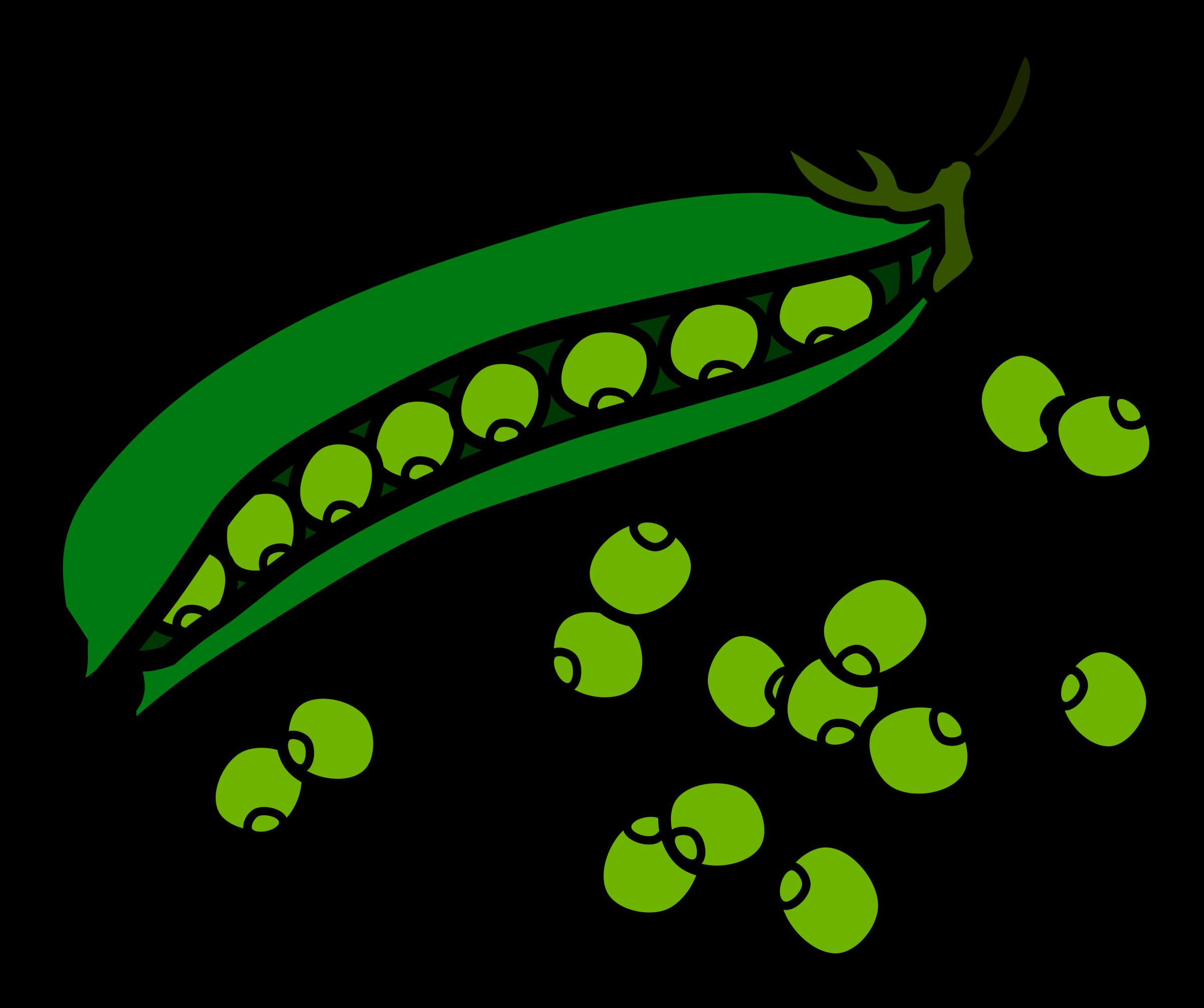 Pea clipart cute Clipart Peas Clipartwork Peas art