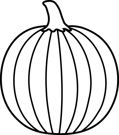 Squash clipart outline White pumpkin Clipart And chalk