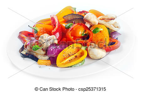 Vegetables clipart side dish Of Photography roasted side Succulent