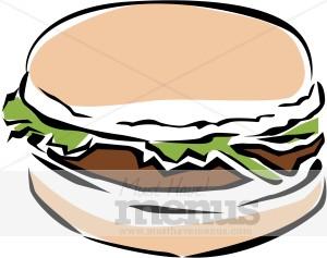 Veggie Burger clipart Clipart Burger Fast Veggie Clipart