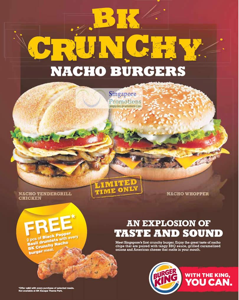 Veggie Burger clipart burger king King of 45 ad publicity