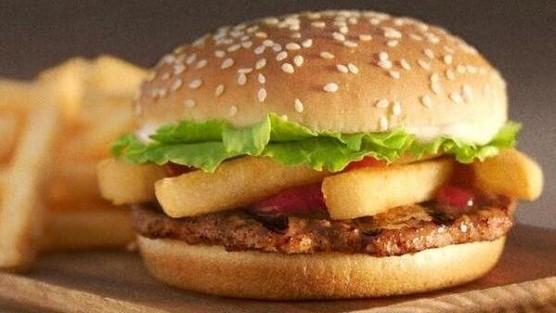 Veggie Burger clipart burger king In Burger Burger Fast Food