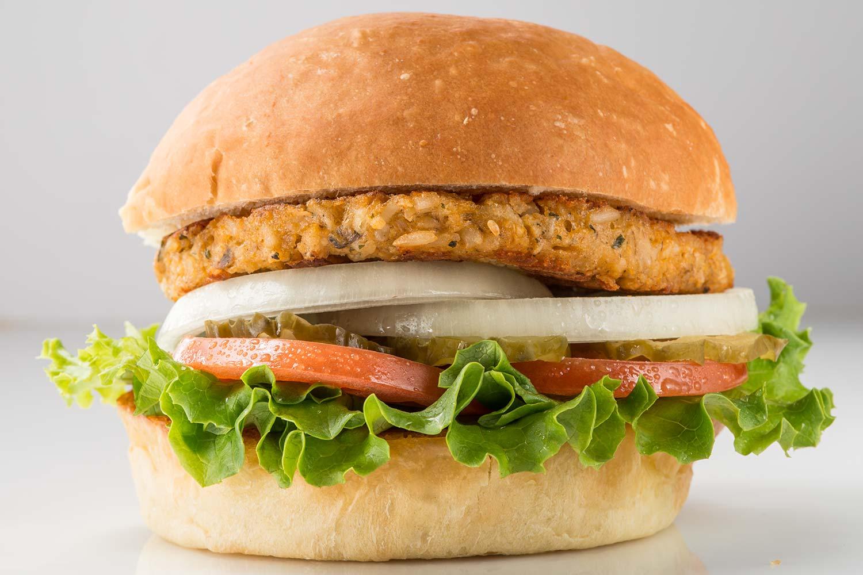 Veggie Burger clipart chicken sandwich Menu Favs Fudds Our Fuddruckers®