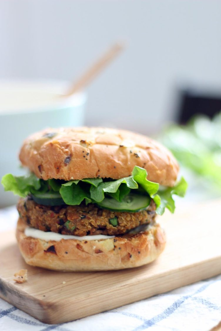 Veggie Burger clipart delicious food Bowl burgers Delicious Food Real