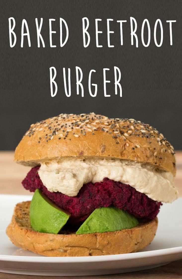 Veggie Burger clipart fish n chip Beet Baked Baked  Pinterest