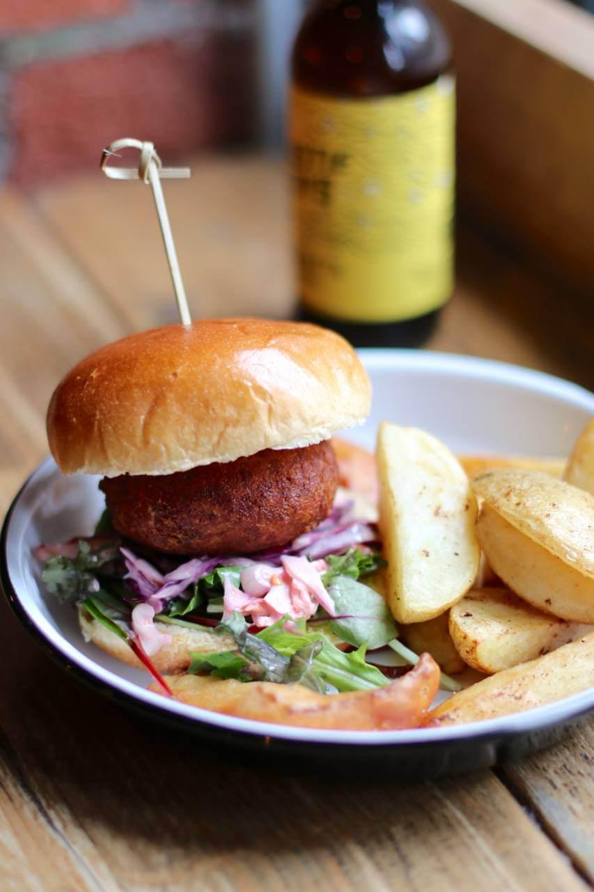 Veggie Burger clipart fish n chip Hip Shell Chip Shop The