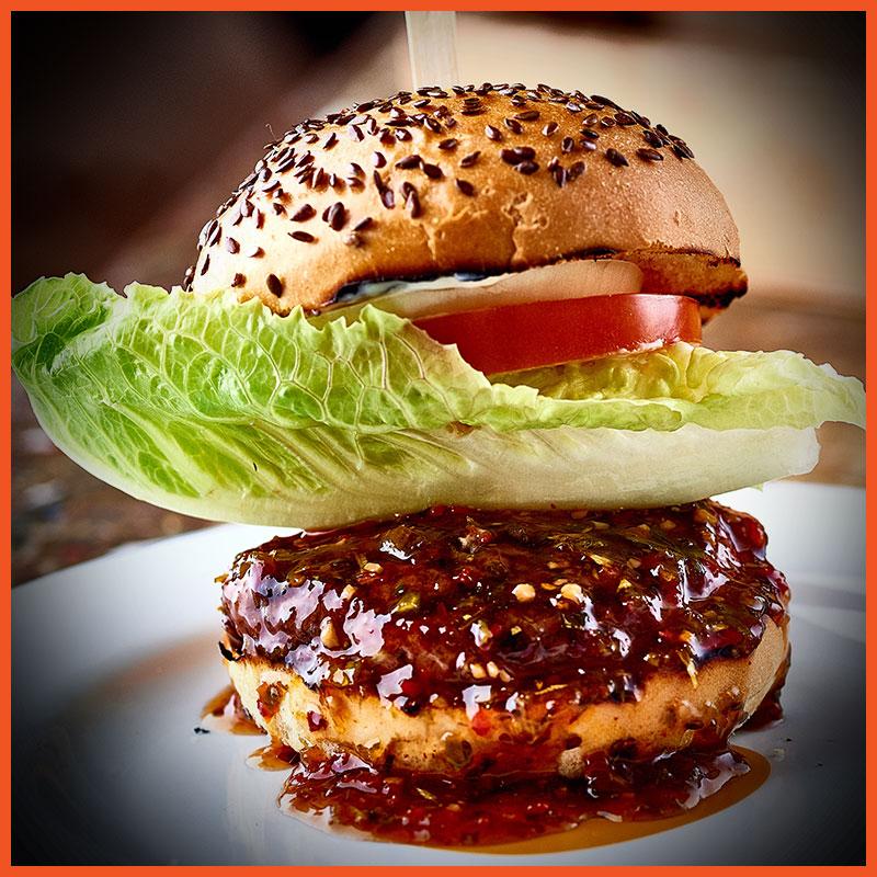 Veggie Burger clipart fish n chip Davidstow Burgerworks Relish/Salad Aioli/Chips Cheddar/Chilli