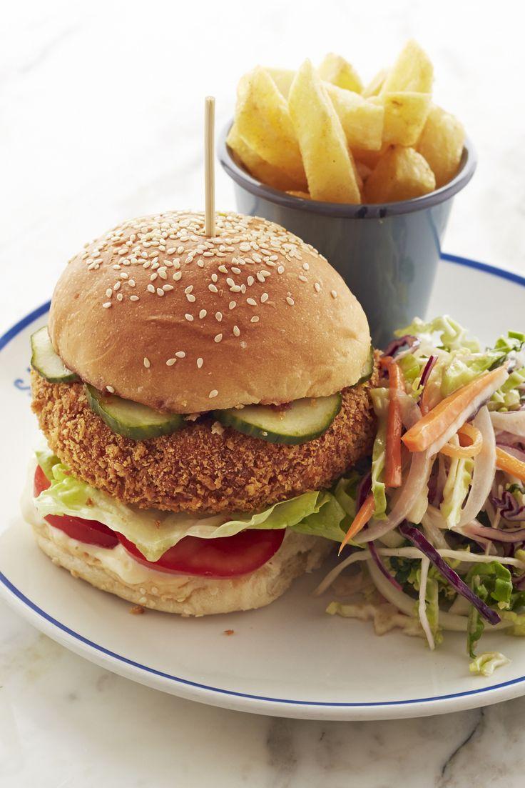 Veggie Burger clipart fish n chip Auf Chickpea Ideen 25+ gurken