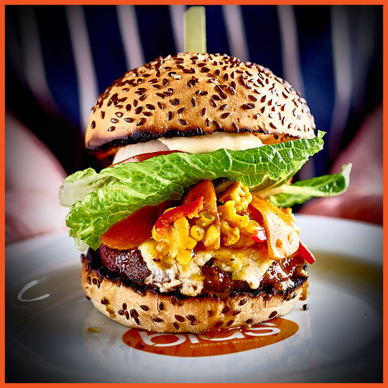 Veggie Burger clipart fish n chip Old Blas Cornish Piccalilli/Salad Smokey