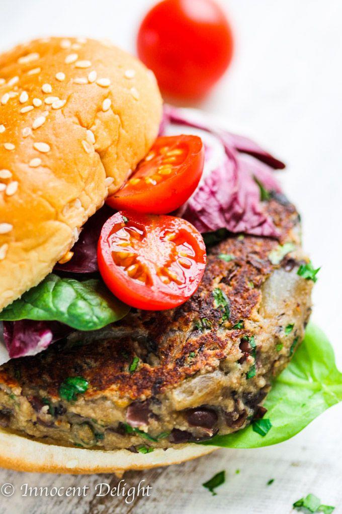 Veggie Burger clipart healthy 25+ Black ideas burger Bean