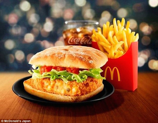 Veggie Burger clipart mcdonalds food In McDonald's snowcrab fast consisted
