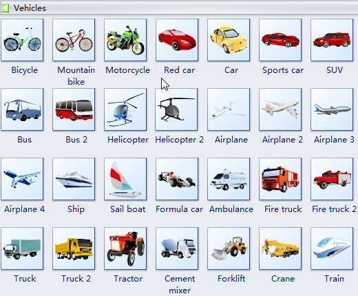 Vehicle clipart Vehicle PowerPoint for Word