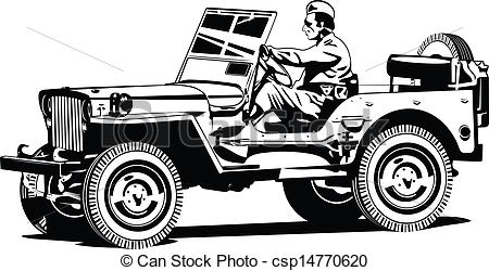 Army clipart army jeep #7