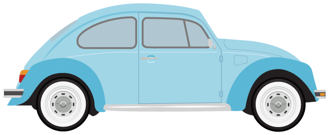 Classic Car clipart blue #clipart and white and clipart