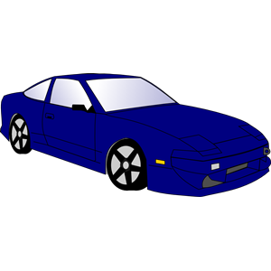 Race Car clipart blue Blue eps Car free of