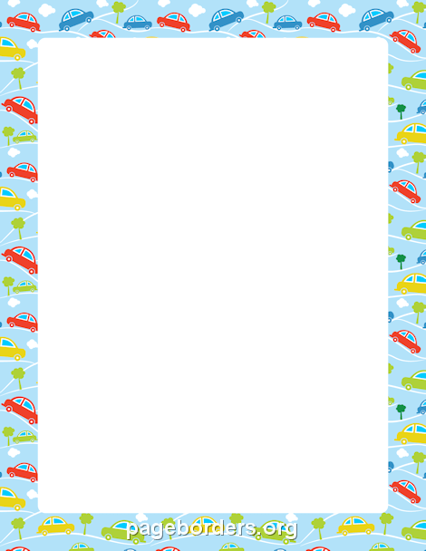Vehicle clipart border Borders Free and Car Vehicle
