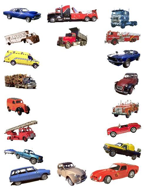 Vehicle clipart border Zone Clipart Transportation 76834 Cliparts