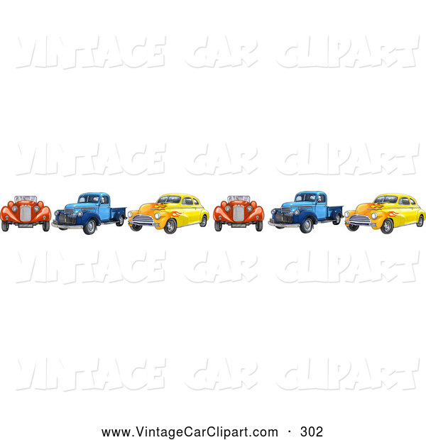 Vehicle clipart border And Vintage a Trucks Clipart