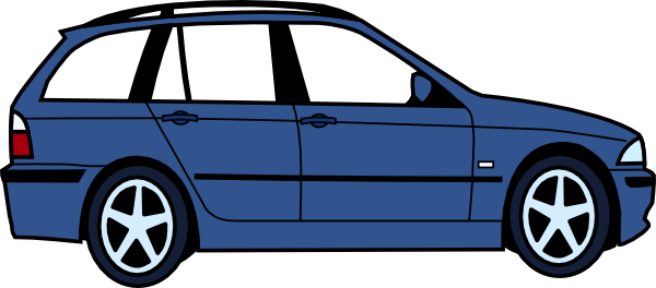 Blue Car clipart disnep Art View image at com