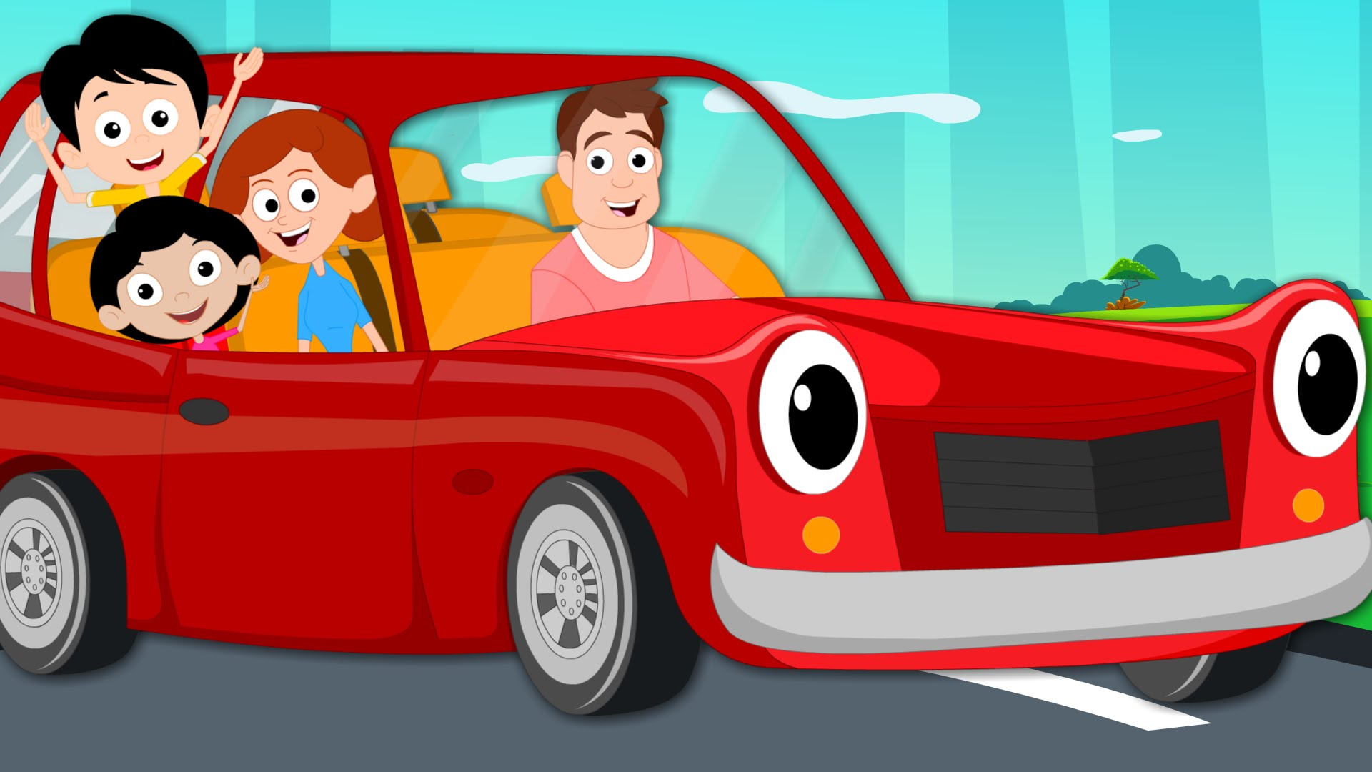 Vehicle clipart children's Daddy's Kids Car And Original