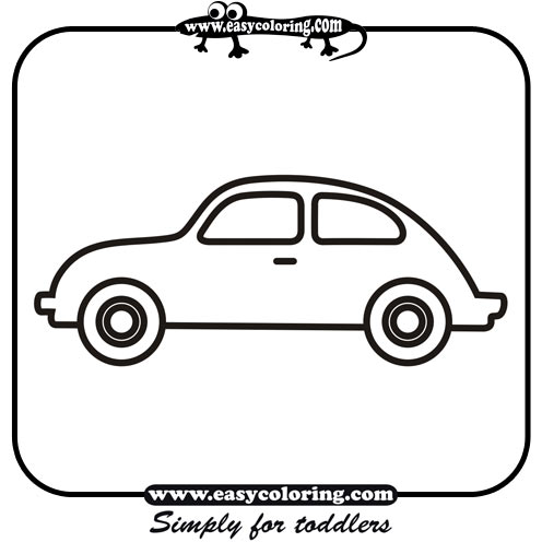 Vehicle clipart mode transport Pages Simple Party Car Pages