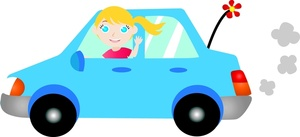 Vehicle clipart drive a Drive Tiny Teenybopper Going Teenybopper