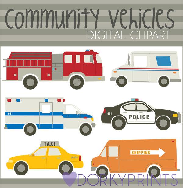 Emergency clipart police car Studio from Emergency DorkyPrints Ambulance