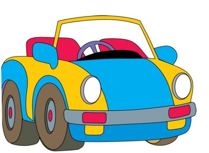 Ferarri clipart car toy #5