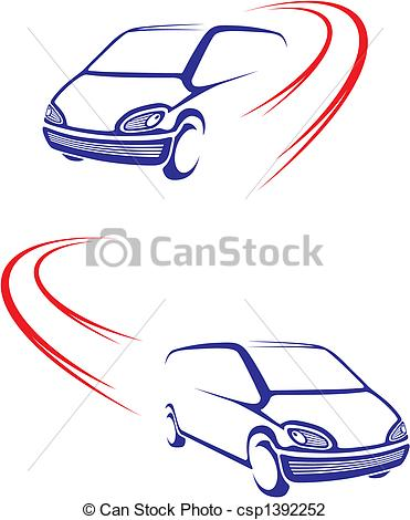 Vehicle clipart fast car Fast on of graphic Simple