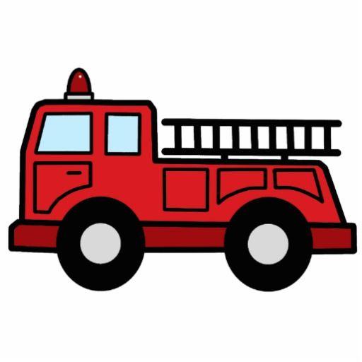 Fire Truck clipart side view  Clip Truck Firetruck Cartoon