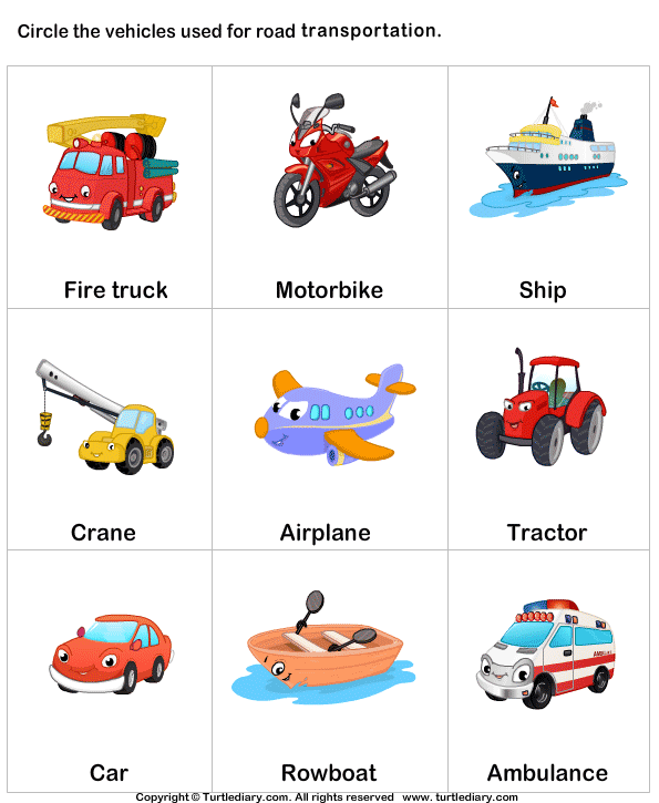 Vehicle clipart means transport Turtle Land Diary Transport Transport