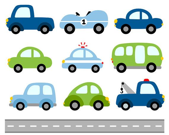 Bike clipart cute car Road Cars Vehicle Instant images