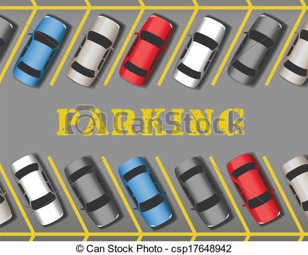 Traffic clipart parking lot #1