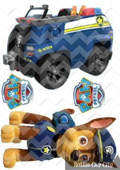 Vehicle clipart paw patrol  ~ Printable Paw MARSHALL